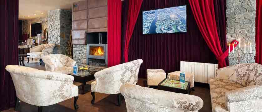 Hotel Le Mottaret - lounge area